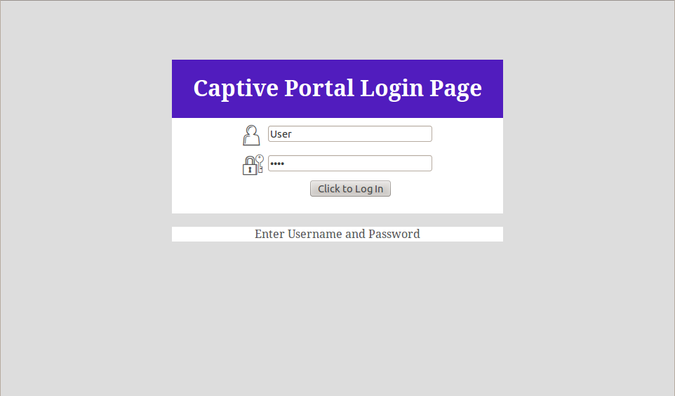 captive portal thesis I uploaded a captive portal html page and it is redirecting correctly to the specified page however it is not displaying the images included in the html page although i uploaded those images to the file manager and i changed their names in the html page according to the new names given by the file manager.